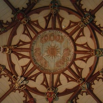 Winchester Cathedral fan-vault